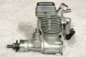 OS FS-40 four stroke diesel conversion RC engine