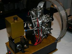 UMS Seidel ST7-35 Glow Radial Engine