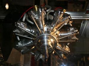 UMS Seidel ST7-250 Glow Radial Engine