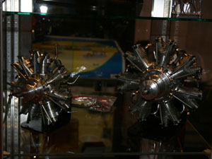 UMS Seidel Glow Radial Engines
